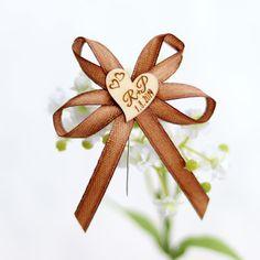 Svatební mašlička se ♥ s vašimi iniciály - HNĚDÁ Ceiling Fan, Decor, Decoration, Ceiling Fan Pulls, Ceiling Fans, Decorating, Deco