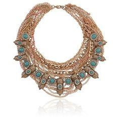 Sahara Sun Necklace -LOVE