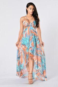Trinidad & Tobago Dress - Blue