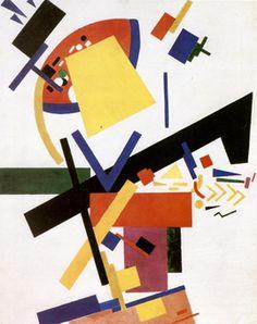 'Suprematismus' by Kazimir Malevich