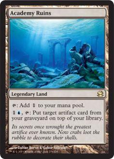 Academy-Ruins-x1-Magic-the-Gathering-1x-Modern-Masters-mtg-card-rare-land