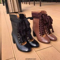 Chloe Lace up Harper boots