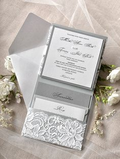 WEDDING INVITATIONS lace 022/lace/z