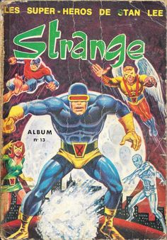 Couverture de Strange -REC013- Album n°13 (du n°38 au n°40)