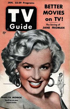 tv guide 1953...most homes got only 3 channels, but we HAD to have our tv guide!