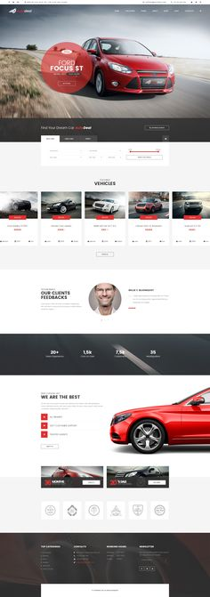 Ultra modern and super cool multipage PSD template for car and bike dealer companies, car repair stations and services, and other business enterprises related to autos.
