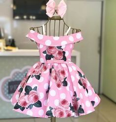 US Summer Sunsuit Outfits Toddler Baby Girl Off-Shoulder Floral Princess Dress African Dresses For Kids, Little Girl Dresses, Girls Dresses, Baby Girl Dress Patterns, Baby Dress, Toddler Outfits, Kids Outfits, Baby Frocks Designs, Sleeveless Outfit