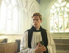 James Norton plays Sidney Chambers in Grantchester