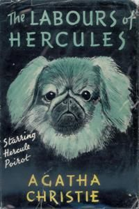 The Labours of Hercules - First Edition Cover 1947