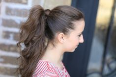 Perfect Ponytail | Cute Girls Hairstyles