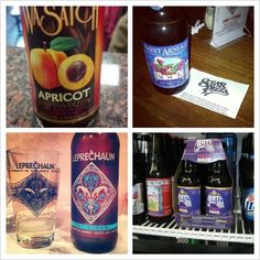A sample of some of our spring brews.