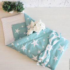 Купить Одеяло-конверт на выписку - тёмно-бирюзовый, конверт на выписку, конверт для малыша, одеяло для новорожденного