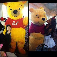 Pooh and Ariana then and now :)