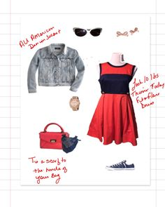 What to Wear To Your 4th Celebration #summer #4thofjuly #Fashion #lookoftheday