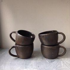 Black Stoneware Mug Seconds on sale Speck + Stone
