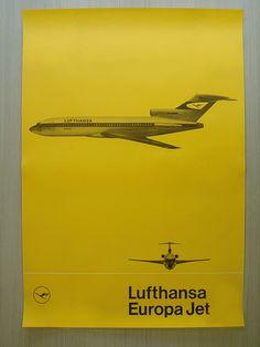 Lufthansa Europa Jet by alphanumeric., via Flickr