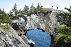 The East Coast Trail would be a great scenic spot to drop the big question.