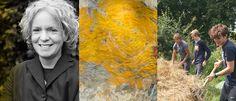 De textiele werken van kunstenaar Claudy Jongstra zijn letterlijk in de kleuren…