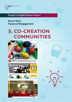 Food for thought!    5-cocreation-communities-ten-frontiers-for-the-future-of-engagement by MSLGROUP via Slideshare