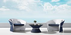 The main design concept of the BOLD collection is to merge lightness and solidity at the same time. A light and dynamic surface that gently folds into an elegant and sculptural volume, creating a sensation of protection and comfort. Sauna Infrarouge, Parasols, Banquette, Round Coffee Table, Foam Cushions, Mold And Mildew, Outdoor Fabric, Outdoor Seating, Club Chairs