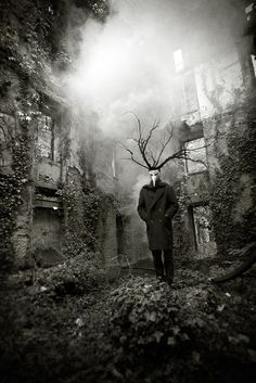 Thomas was a gardner of local renown.  He was tall, quiet and his hair sprouted like a wooden crown.  He never thought he was successful quite truthfully; every garden he tended always turned spooky.