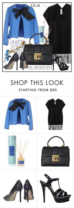 """""""DLRBOUTIQUE.COM"""" by lila2510 ❤ liked on Polyvore featuring Au Jour Le Jour, Valentino, Max Benjamin, Sonia Rykiel, Jimmy Choo, Yves Saint Laurent, Topshop, DLRLuxuryBoutique and dlrboutique"""