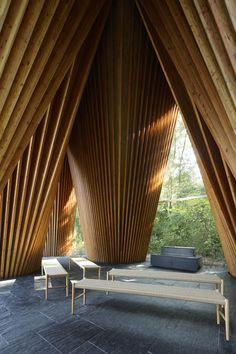 Koji Fujii/Nacasa and Partners Inc., Hiroshi Nakamura & NAP · Sayama Forest Chapel · Divisare