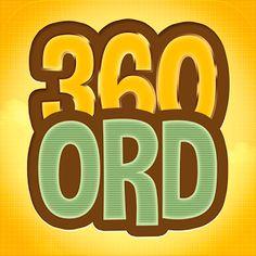 360 Ord - I en vilkårlig dansk tekst udgør de 360 ord, der bruges hyppigst - hele 75% af teksten.  Når vi lærer at genkende disse ord som ordbilleder, bliver læsning og skrivning langt lettere. Læsehastigheden vil blive hurtigere, og det øger forståelsen.