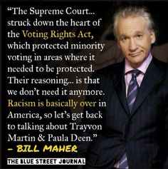It Only Took Bill Maher 51 Words To Completely Dismantle The Supreme Court's Argument