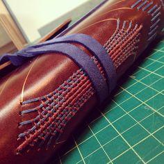 Woven #books #bookbinding #weaving #longstitch #journal