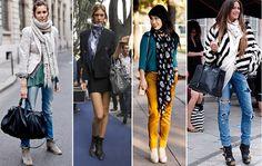 #Moda #Outfits #Foulards #Pañuelos