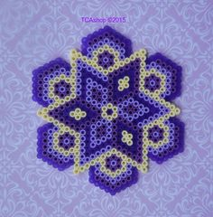 Purple Ornament Hama Beads by TCAshop