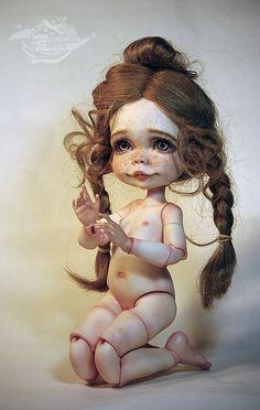 """Открыт первый преодер SomniaDolls - """"Три цветочка"""": Ромашка и Огонек, а также Одуванчик / BJD - шарнирные куклы БЖД / Бэйбики. Куклы фото. Одежда для кукол"""