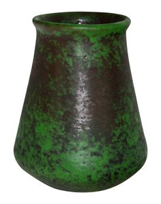 Weller Pottery Coppertone Bulbous Base Vase