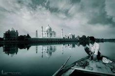#taj #mahal #agra #reflection #fotofoyer #trappedinfocus  taj mahal