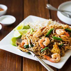 Shrimp Pad Thai for Two