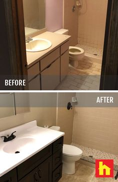 Bathroom Remodel By Rich O. Of Durham, NC. Backsplash, Counter And Flooring  By Surplus Warehouse. | Cabinet Consult | Pinterest | Warehouse, Durham And  ...