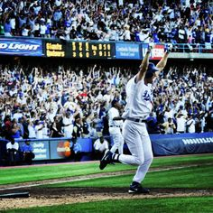 Steve Finley's walk-off grand slam against the Giants to clinch the NL West in 2004.