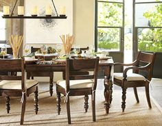 Sumner Square Fixed Dining Table  Pottery Barn  60'' Square Custom Dining Room Pottery Barn Inspiration Design