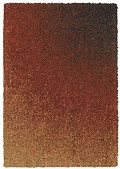 """This Shaw Floors area rug """"Jaku"""" features an amazing gradation of shades in the orange family."""
