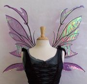 Tutorials for making some great cellophane fairy wings!