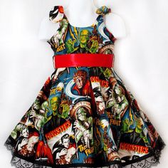 Hollywood Monster Dress - Toddler