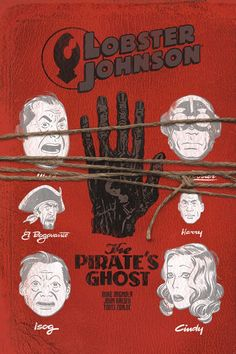Lobster Johnson : The Pirate's Ghost