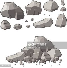 stone cracks vector - Google Search Drawing Rocks, Drawing Skills, Drawing Scenery, Art Environnemental, Forest Drawing, 2d Game Art, Nature Sketch, Modelos 3d, Realistic Drawings