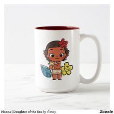 Moana | Daughter of the Sea. Regalos, Gifts. Producto disponible en tienda Zazzle. Tazón, desayuno, té, café. Product available in Zazzle store. Bowl, breakfast, tea, coffee. Link to product: http://www.zazzle.com/moana_daughter_of_the_sea_two_tone_coffee_mug-168241856118995928?CMPN=shareicon&lang=en&social=true&rf=238167879144476949 #taza #mug #moana
