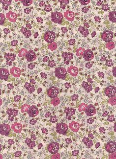 Liberty Fabric Tana Lawn Cotton 'Felicite' by MissElany on Etsy.