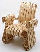 Power Play Armchair, Frank Gehry, 1991