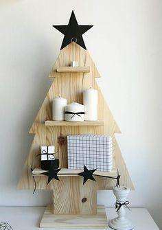 Árbol de Navidad con estilo nórdico