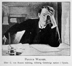Pontus Wikner var en svensk filosof och tänkare, som var påverkad av Rydberg och på det området stod honom nära. De hade en sympatisk brevväxling med varandra.