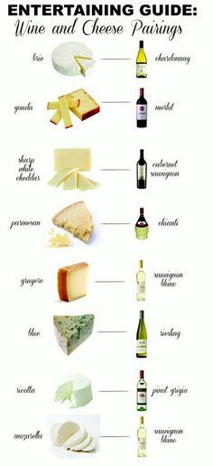 Wine & cheese perfect pairings